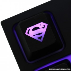 Superman ABS Backlit Keycap